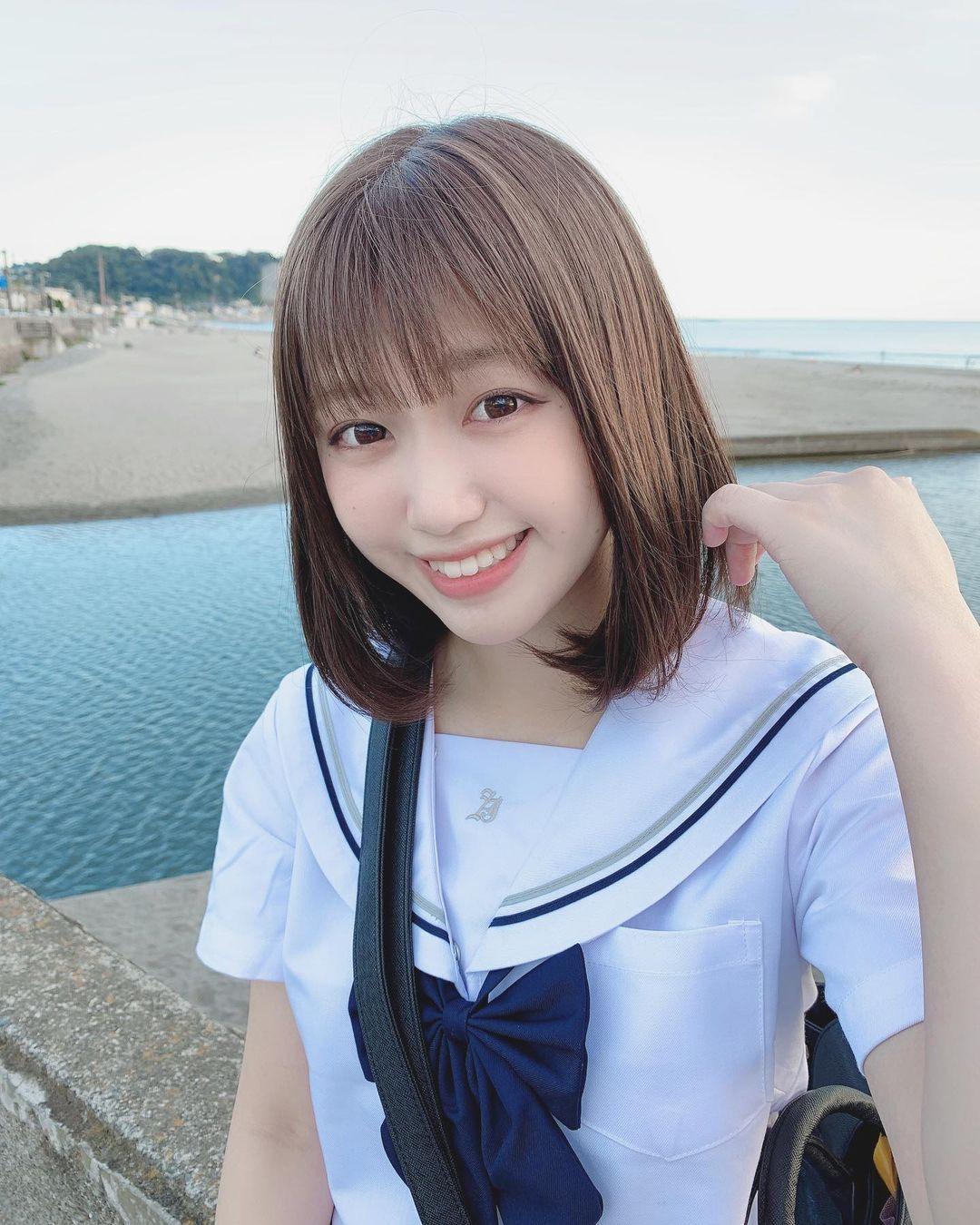 仙女高中生KAREN甜美外型仿佛二次元走出来 美图 热图5