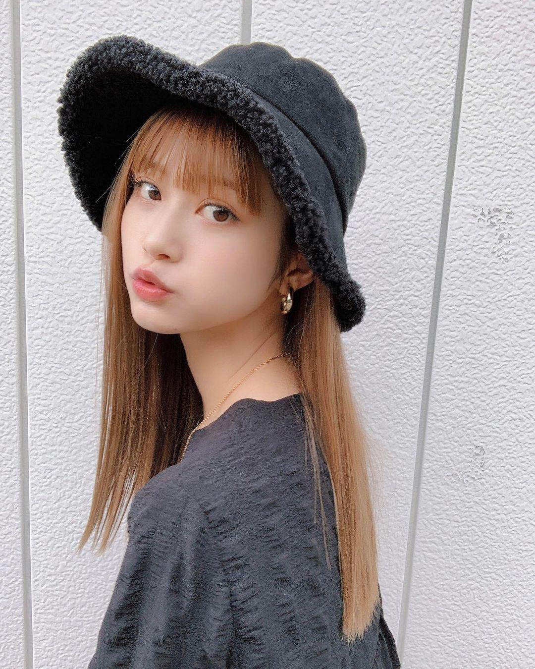 名古屋最可爱国中生「生见爱瑠」,神级颜值美到让人窒息-新图包