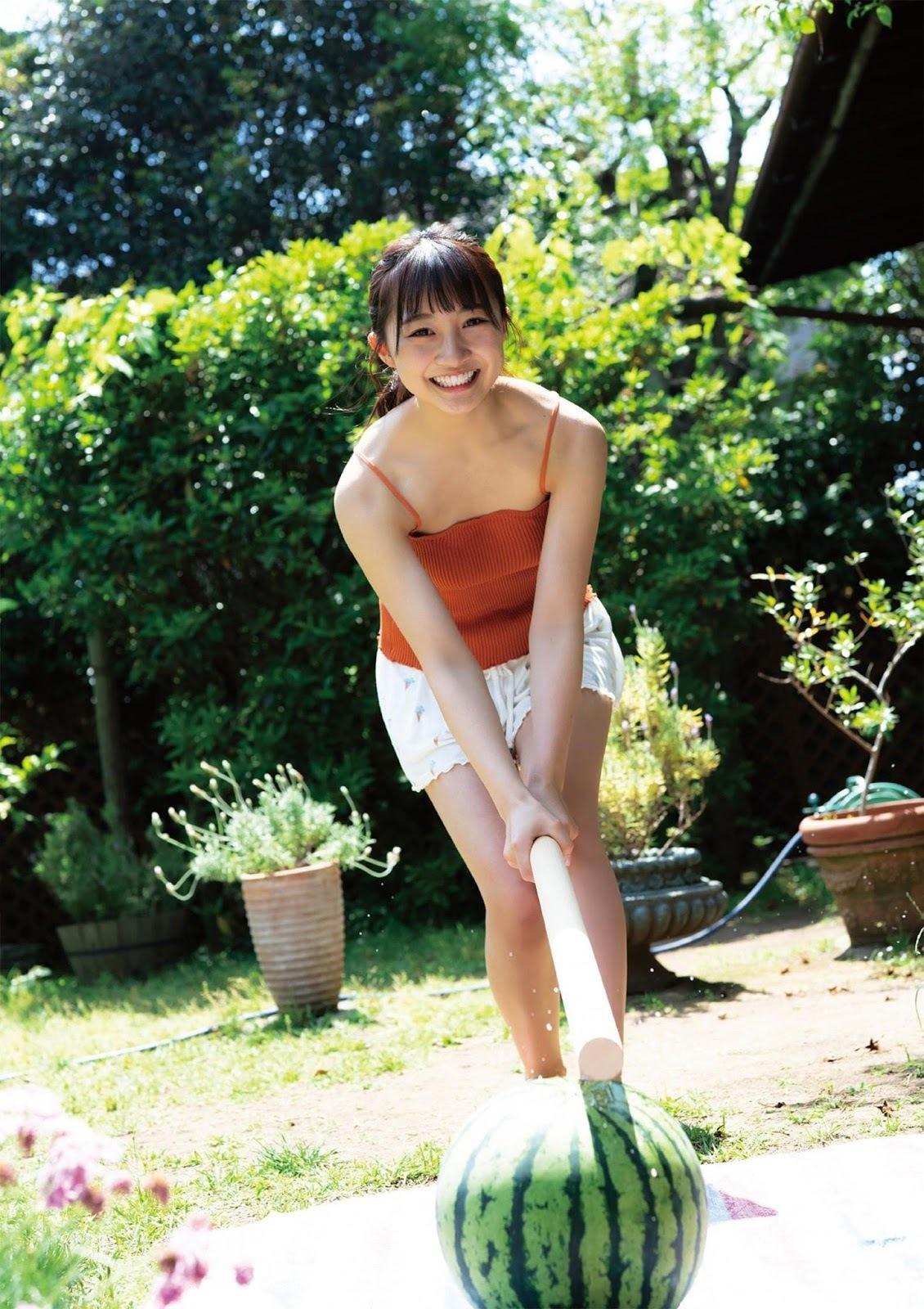 NMB48次世代王牌山本彩加引退转当护理师超暖原因让人更爱她了 网络美女 第38张