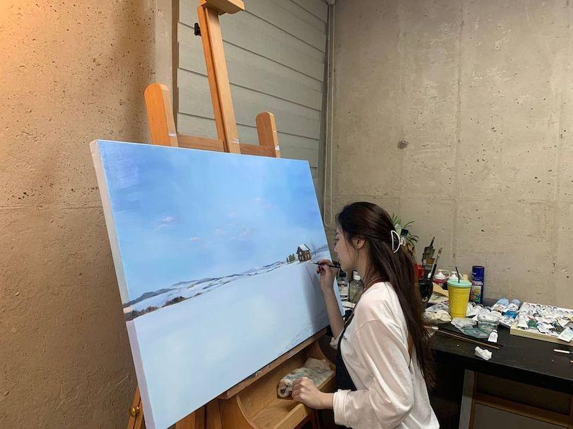 充满艺术气息的韩国小姐姐Yura@yura_936 养眼图片 第6张