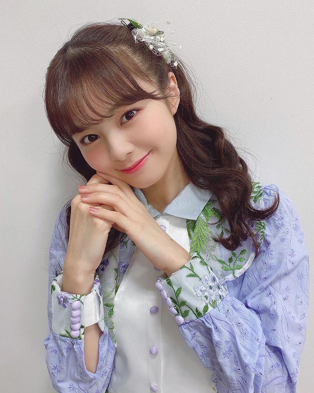 偶像团体NGT48成员《本间日阳》自带阳光的开朗少女!灿烂笑容散发初恋氛围 推软妹 第1张