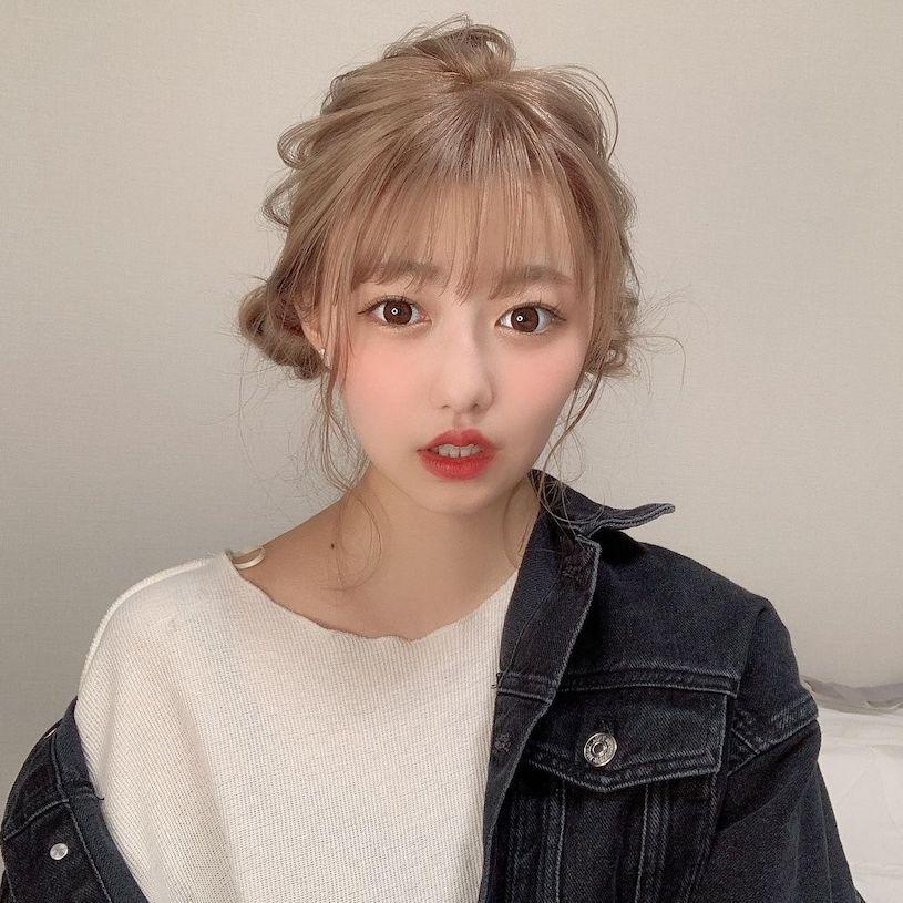 19岁可爱日本女孩上围很傲人,蓝色平口装美满诱人! 网络美女 第8张