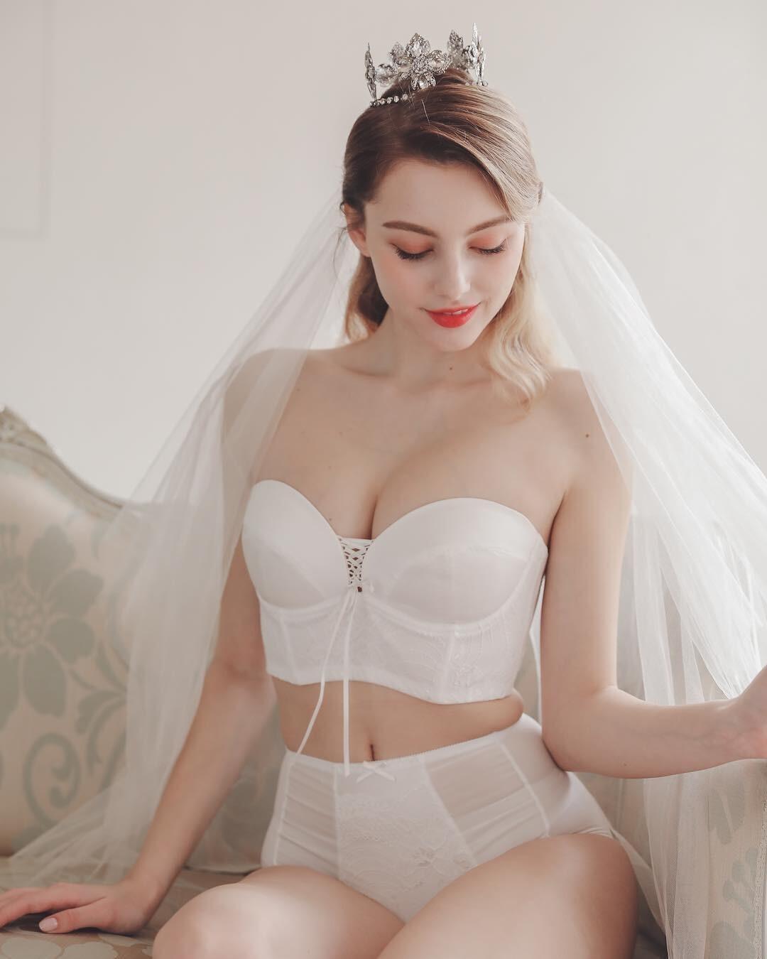 [正妹]完美比例天使脸孔[白俄罗斯女模]内衣广告网友直呼好仙 养眼图片 第27张
