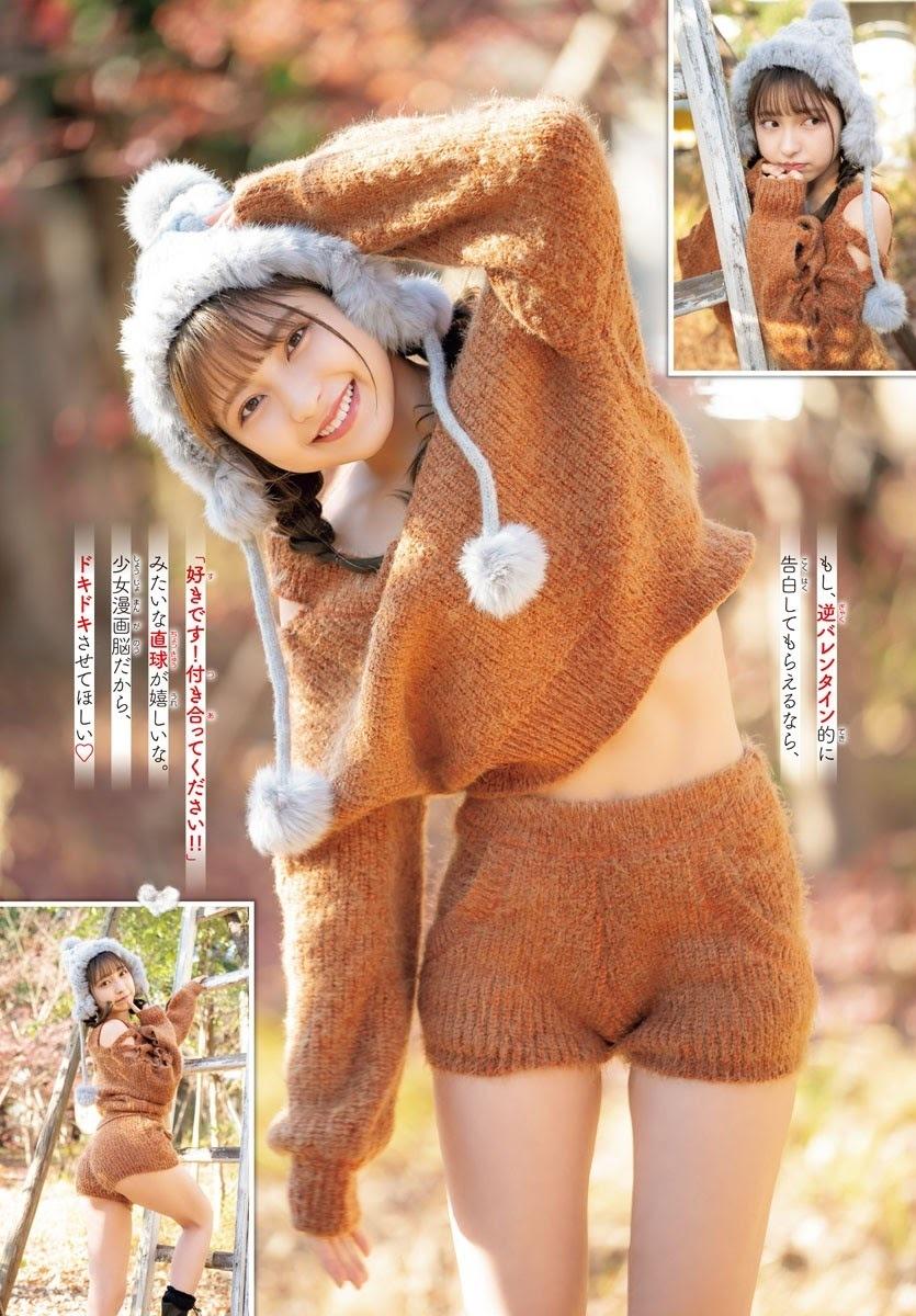 [日本]日本奇迹美少女十味清纯外型让粉丝看了直呼恋爱了 养眼图片 第1张