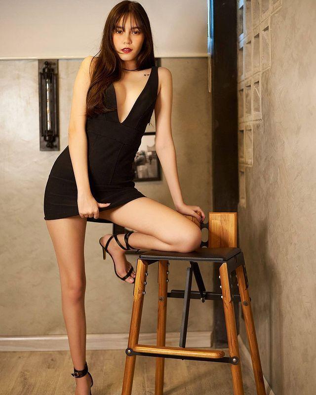 混血正妹[Bella]甜美性感完美融为一体无辜大眼加姿态好撩人 养眼图片 第6张