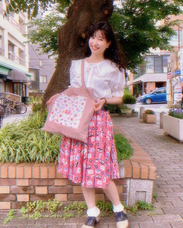 穿越时空而来的昭和女子!日本正妹マリー不畏异样眼光坚持复古装扮!-新图包