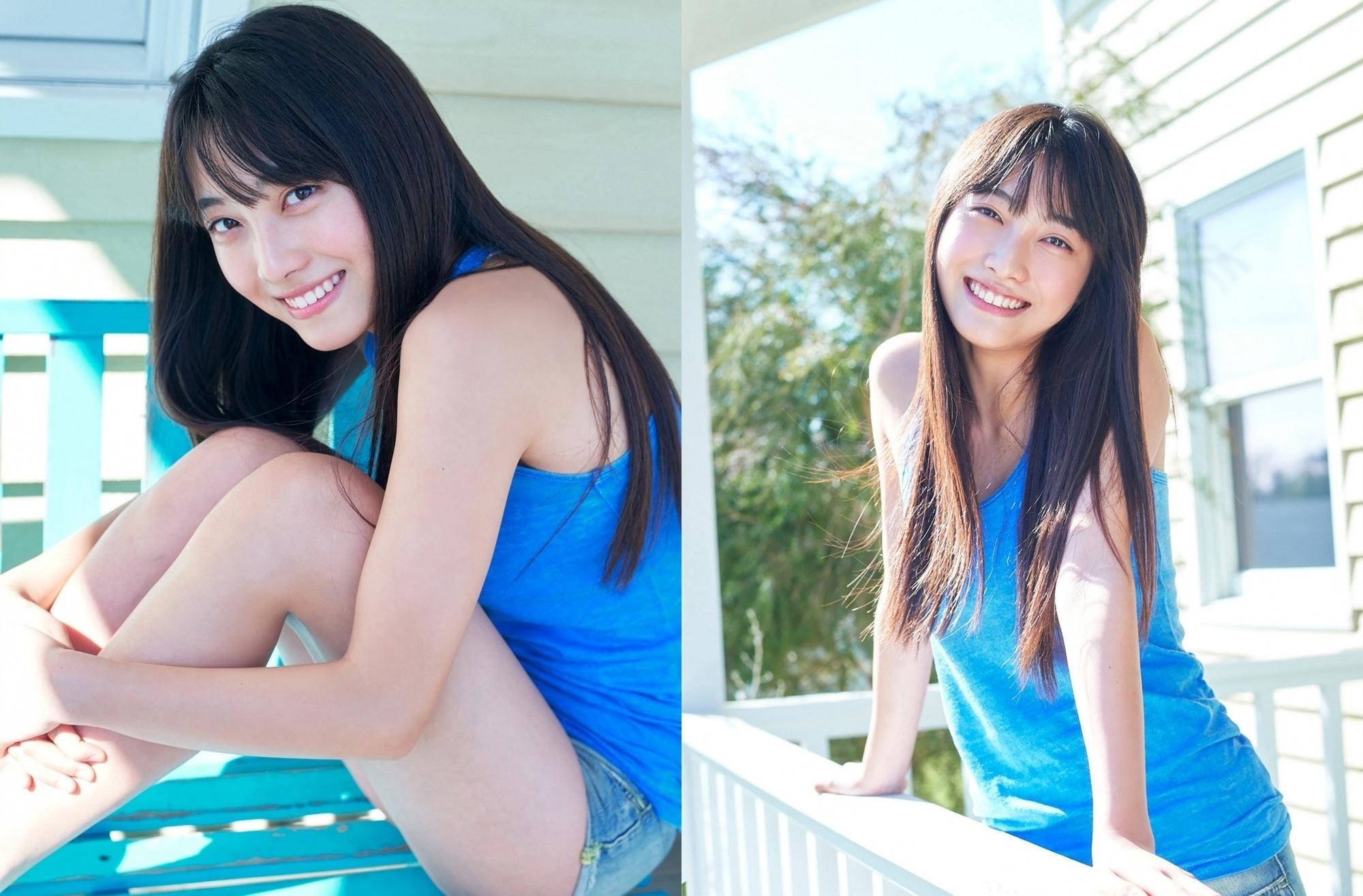 地表最可爱高中生福田ルミカ清爽笑颜透明感十足让人忍不住回想起那段青涩初恋
