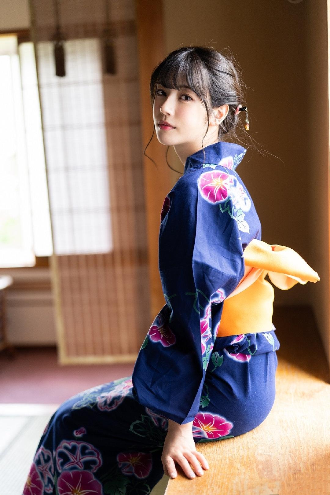 和服美女枫花恋(枫カレン)