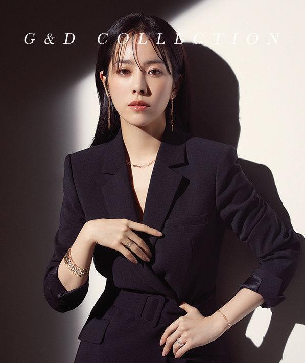 韩志旼婀娜多娇的时装秀艺术写真