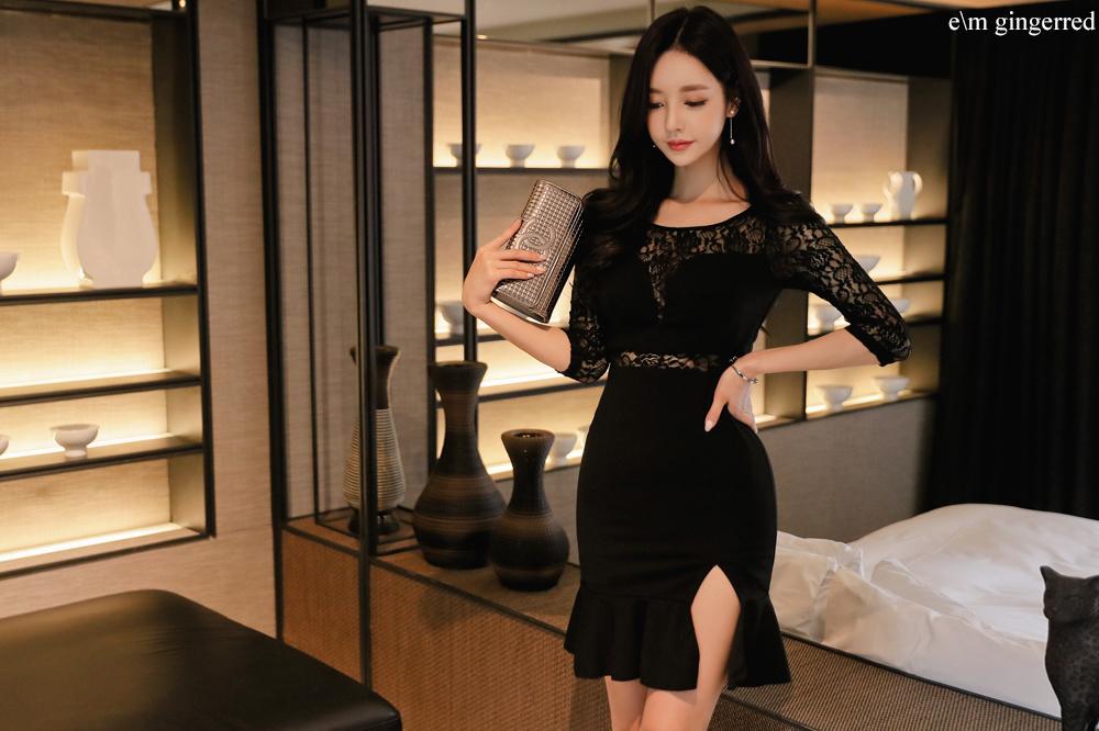 黑色短裙 尽显优雅 第9张