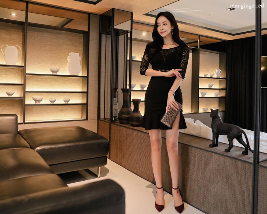黑色短裙 尽显优雅 第6张