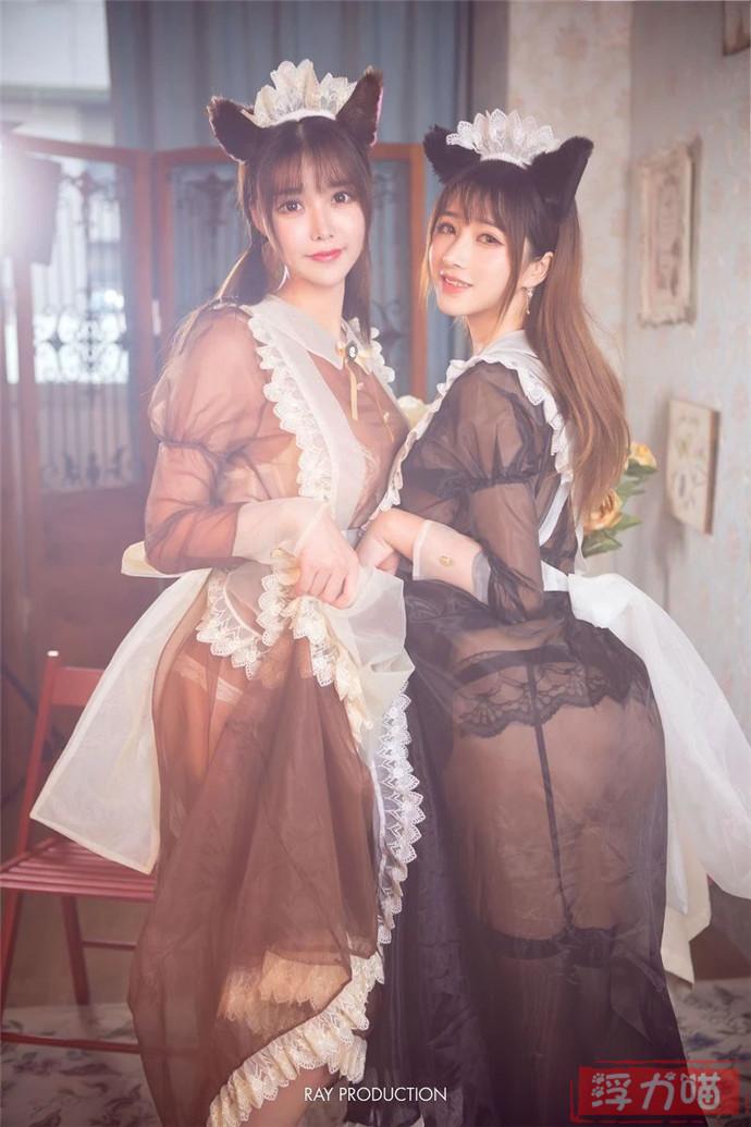 调教女仆, 性感女仆, 双人女仆