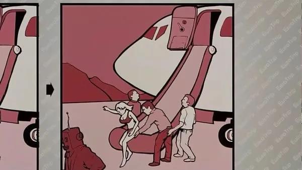 萌妹子《欧洲性旅行》的图片 第10张