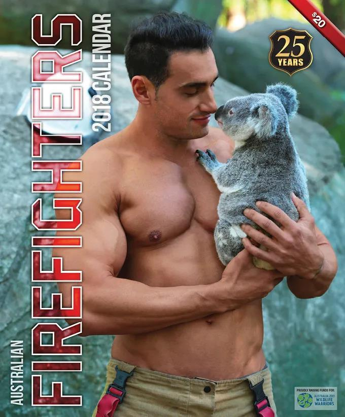 萌妹子《澳大利亚消防员日历》的图片 第25张