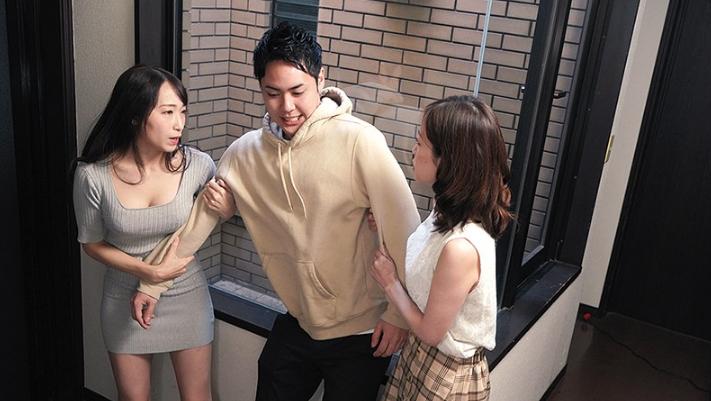 这年轻人同时面对篠田优和莲实克蕾儿 雨后故事 第2张