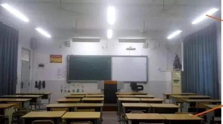 教室终于亮堂起来了