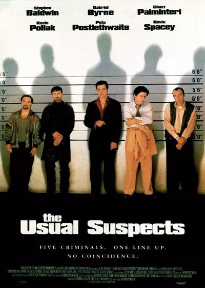 普通嫌疑犯 / 刺激驚爆點 / 幕后嫌疑犯 / 嫌疑慣犯 / The Usual Suspects海報