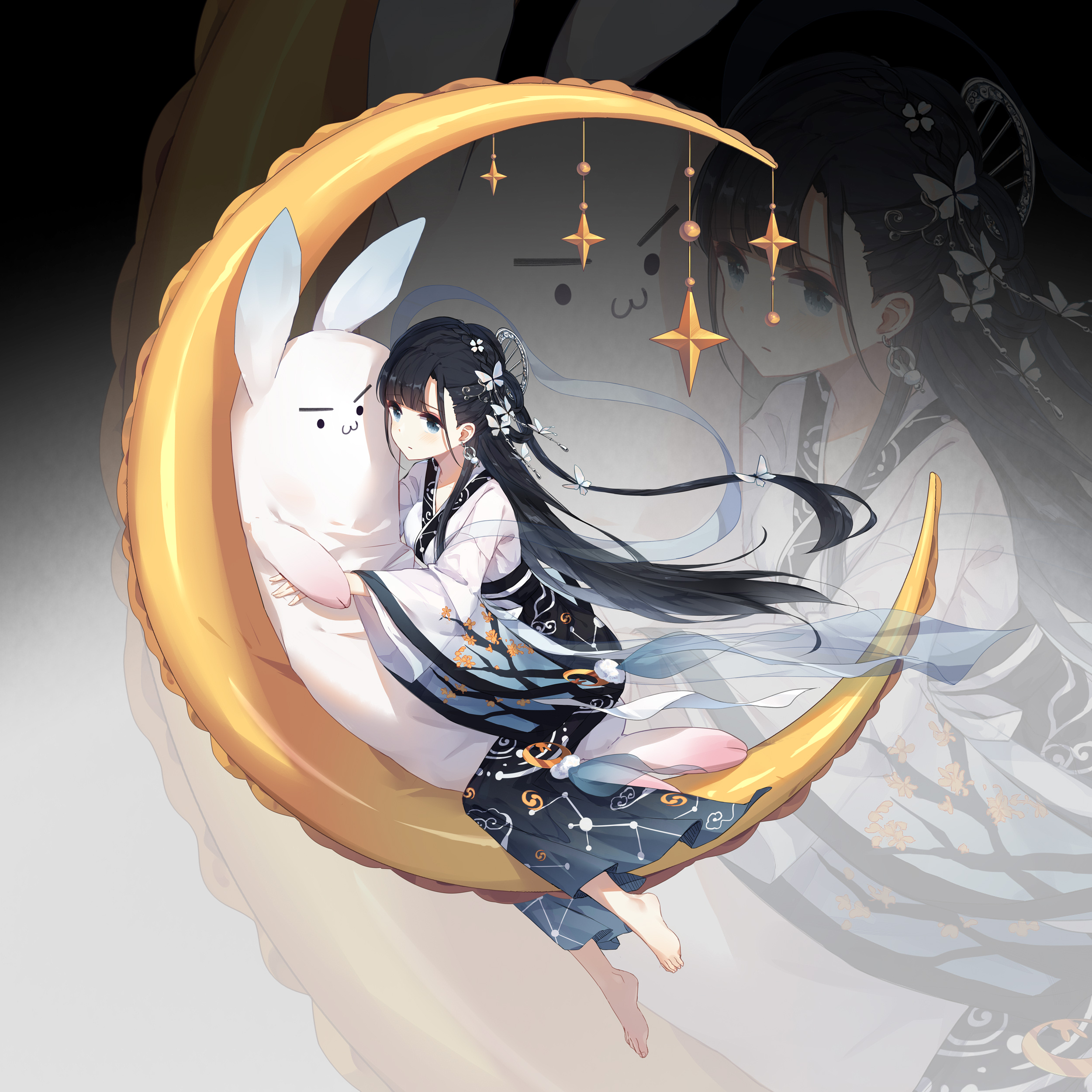 【P站画师】中国画师樾月的插画作品,自称业余的大佬- ACG17.COM
