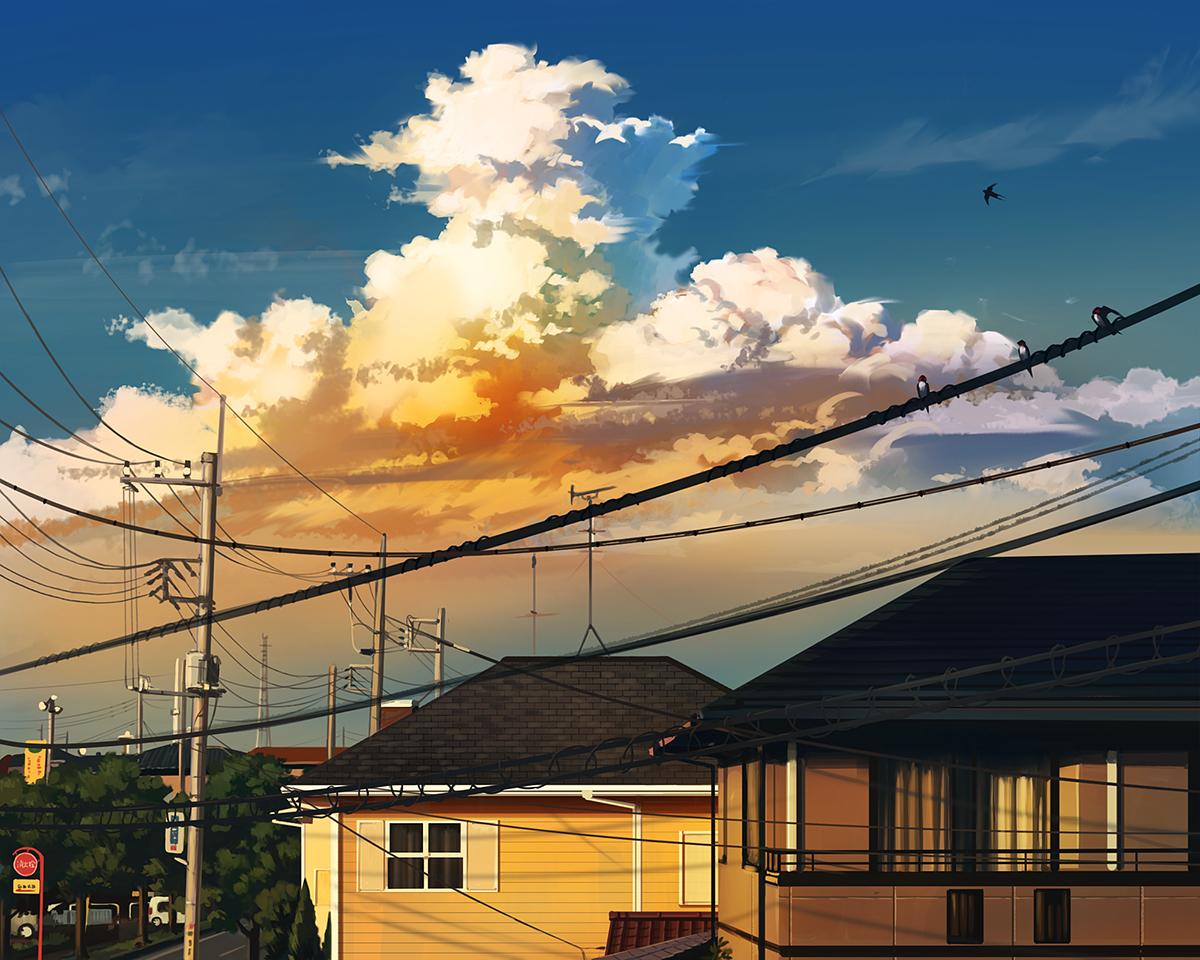 【P站画师】日本画师水あさぎ的插画作品