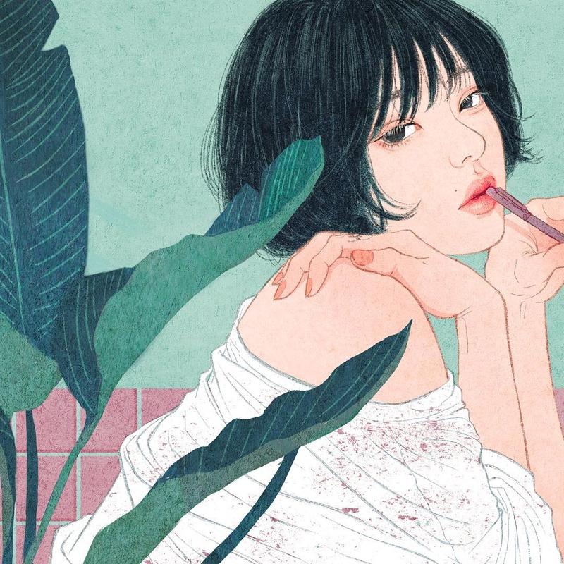 韓國插畫家美麗筆觸,描繪戀人之間的美好!
