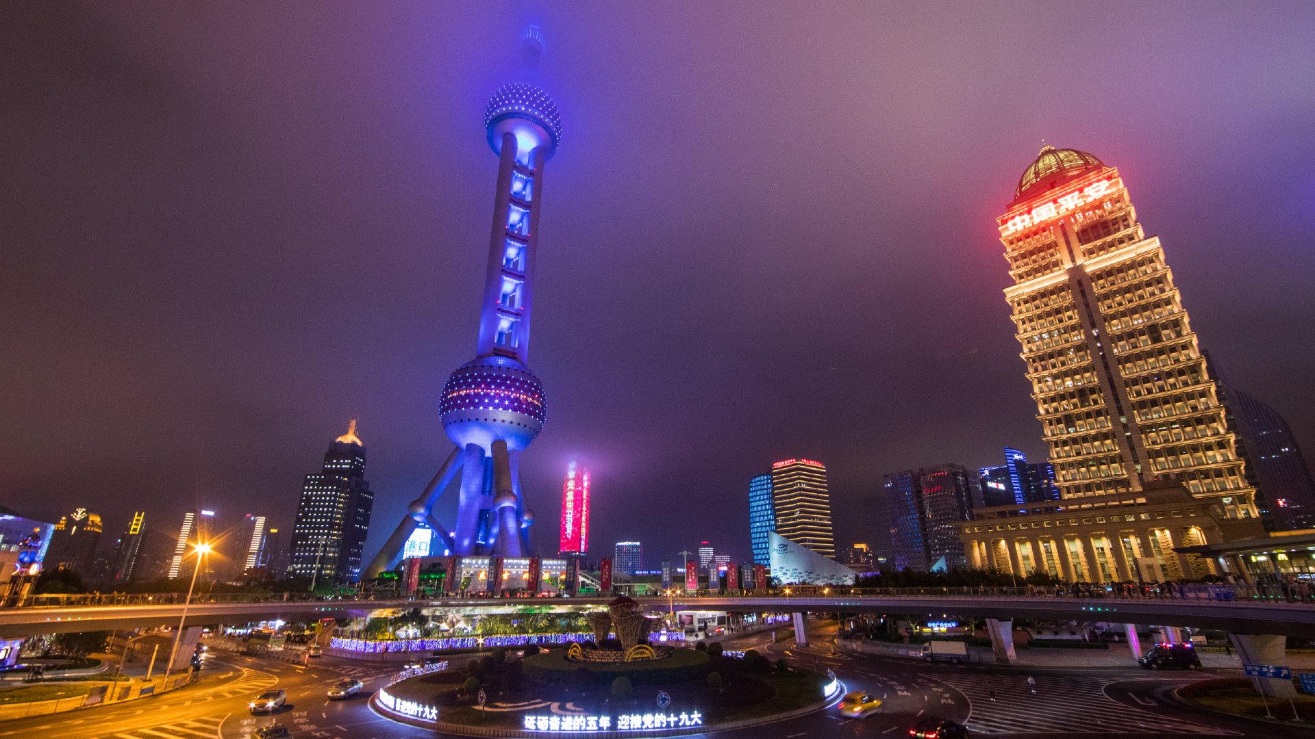上海夜景高清图片大全