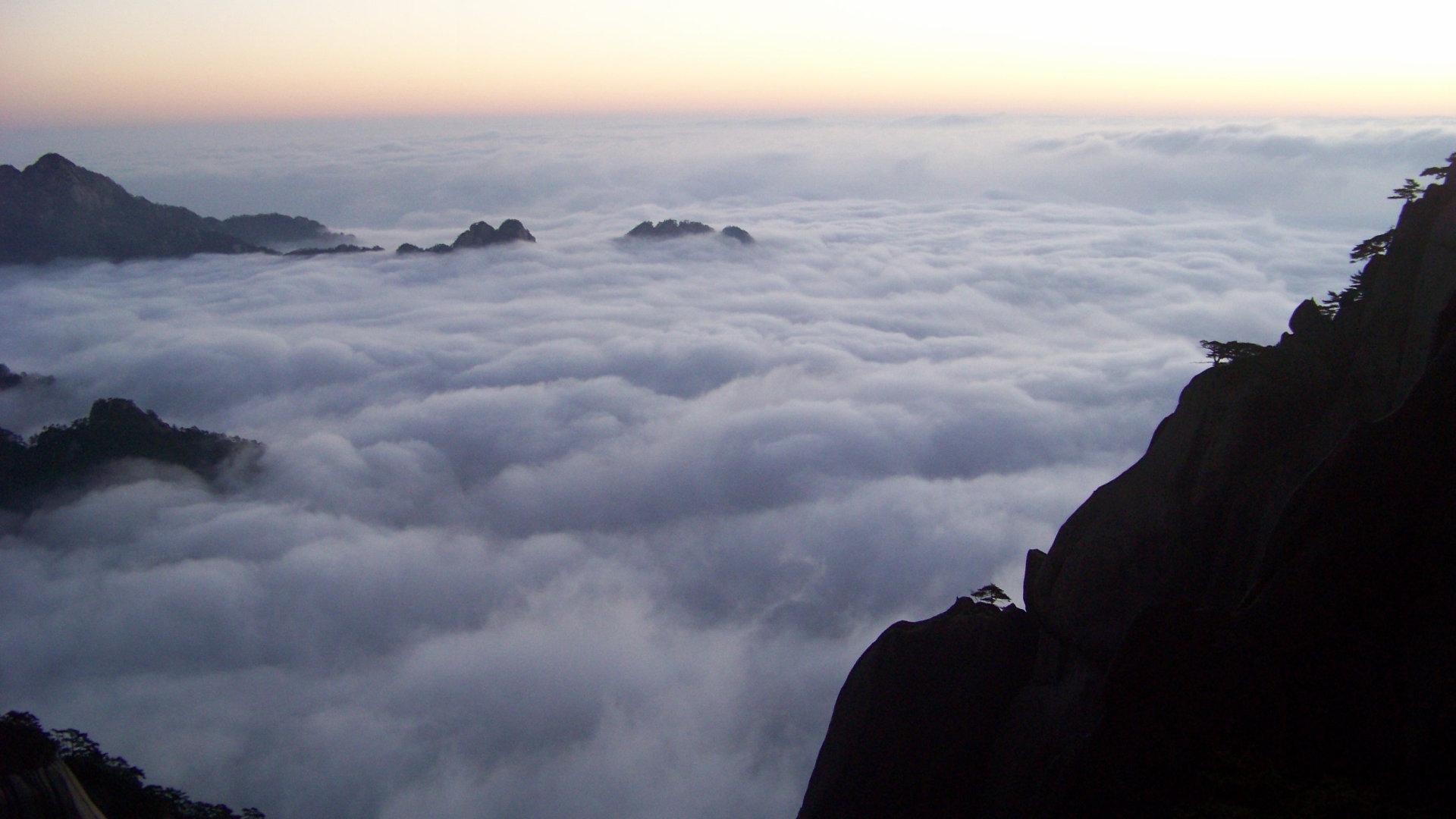 仙境般的云海超高清图片素材