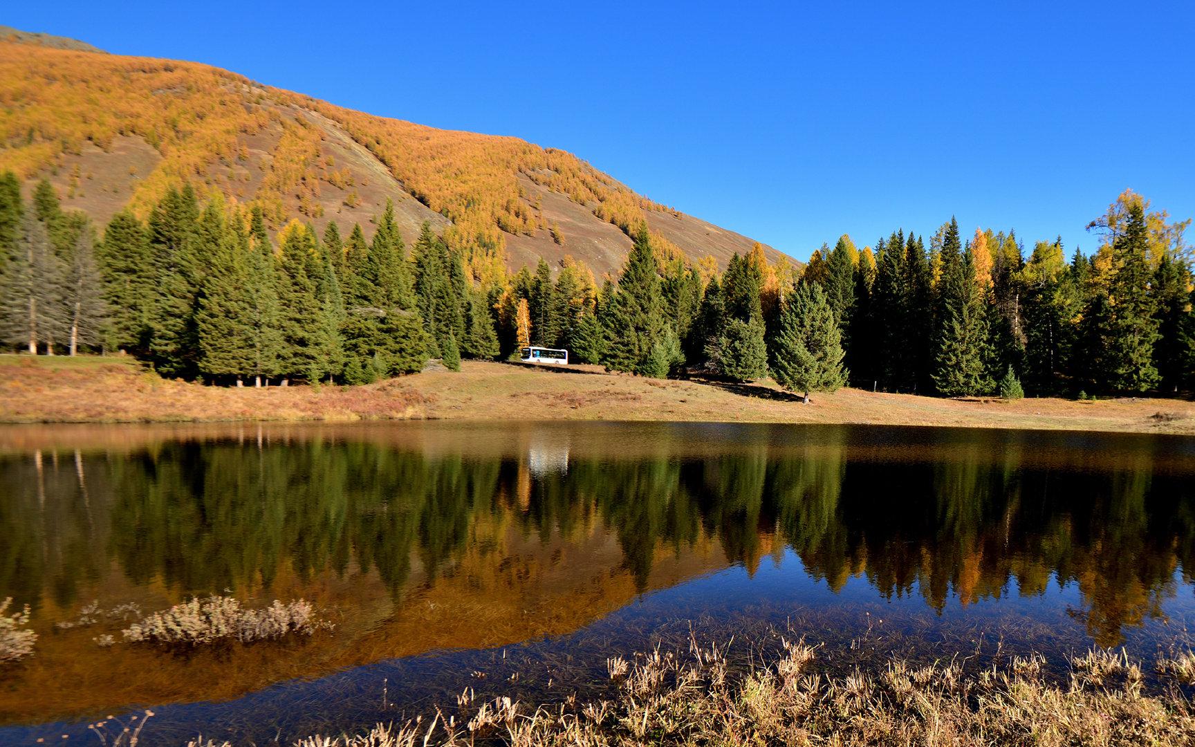 美丽的新疆自然风景2K高清图片素材