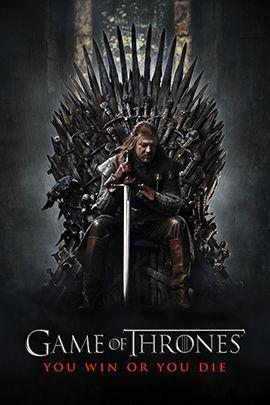 权力的游戏 第一季的海报