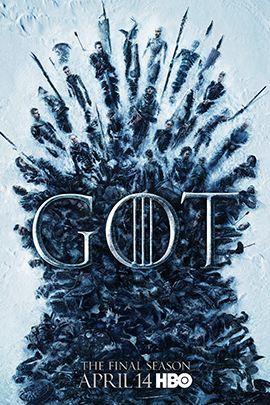 权力的游戏 第八季的海报