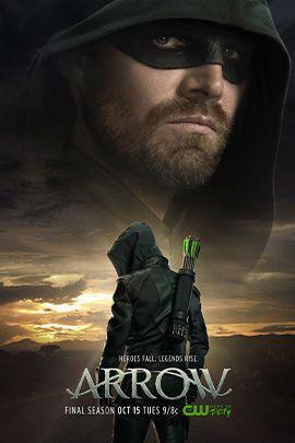 绿箭侠 第八季的海报