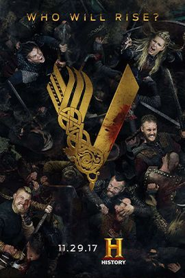 维京传奇 第五季的海报