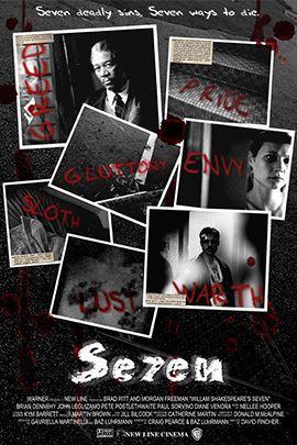 七宗罪的海报