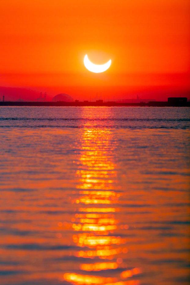 带你看2019年最后一场日食