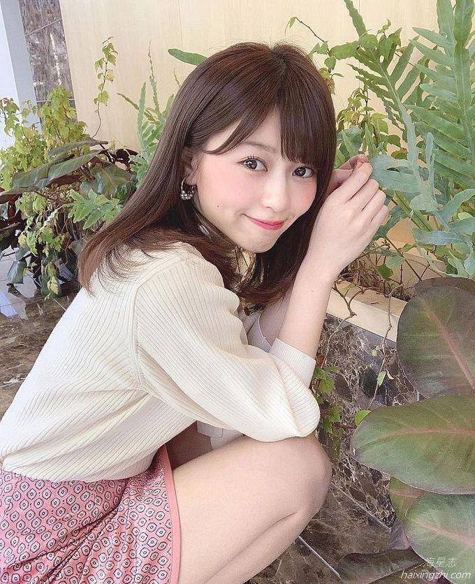 21岁日本模特石崎日梨,天使面孔,靓丽佳人_9