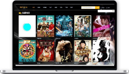 苹果CMSV10模板-黑色自适应电影网站模板附采集