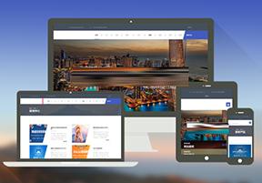 织梦CMS自适应旅行社旅游产品展示网站模板