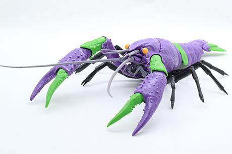 初号机 小龙虾模型