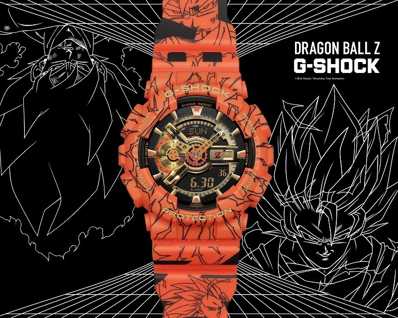 G-SHOCK_龙珠Z_和邪社01