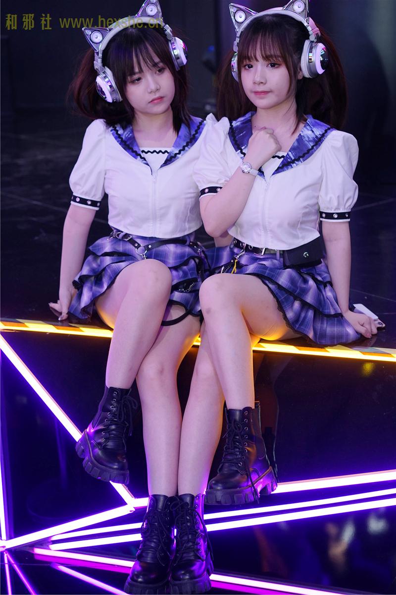 ChinaJoy惟妙惟肖双胞胎_和邪社04