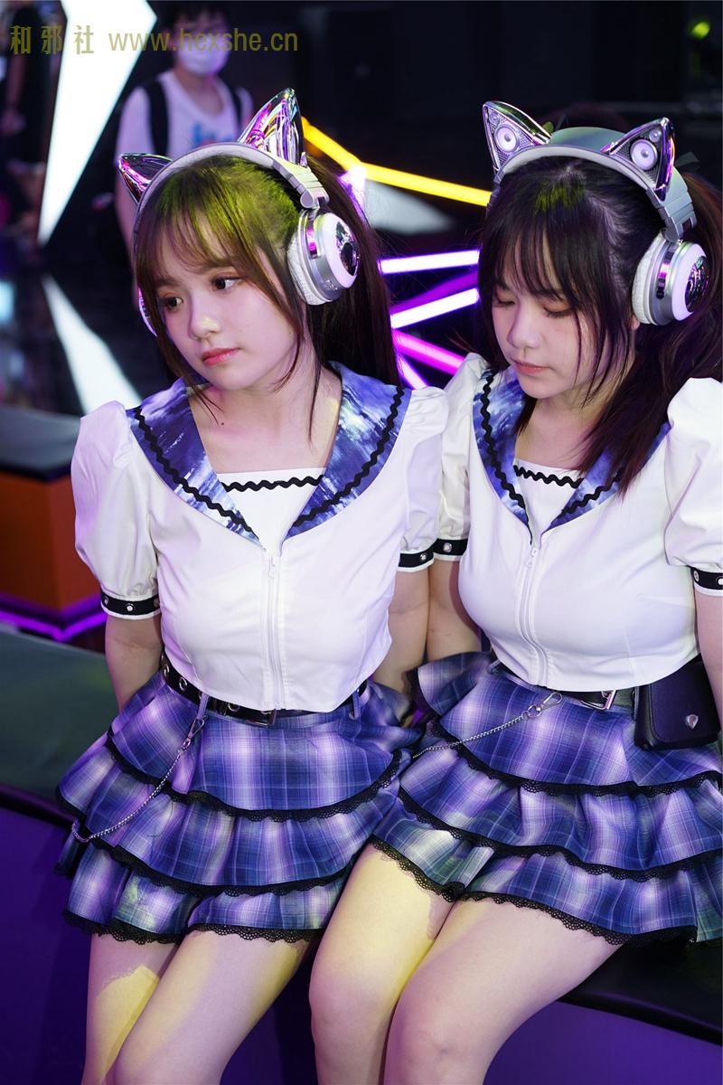 ChinaJoy惟妙惟肖双胞胎_和邪社11