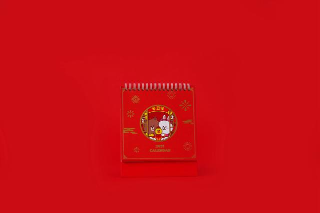 LINE FRIENDS 牛年礼盒OT0310110001(17)