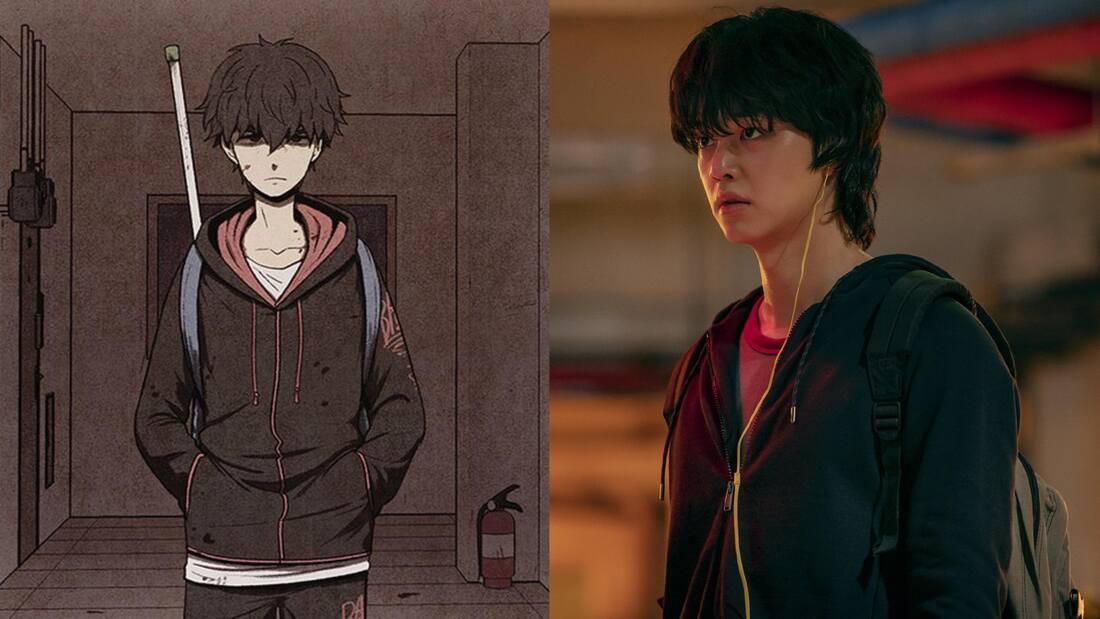 韩国恐怖漫画《Sweet Home》怪物来袭人命丧失但最恐怖的还是自身欲望 (2)