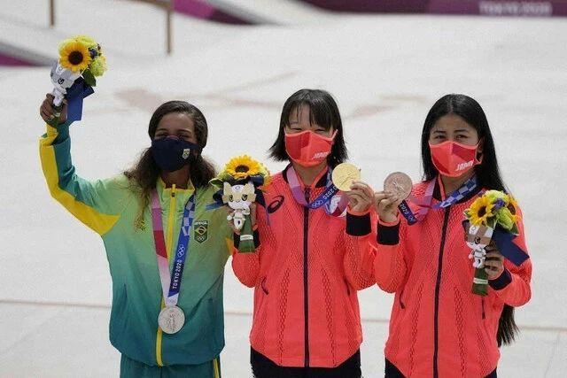 快乐元气的滑板少女西矢椛夺得奥运会冠军而逐渐改变日本人的刻板印象 (4)