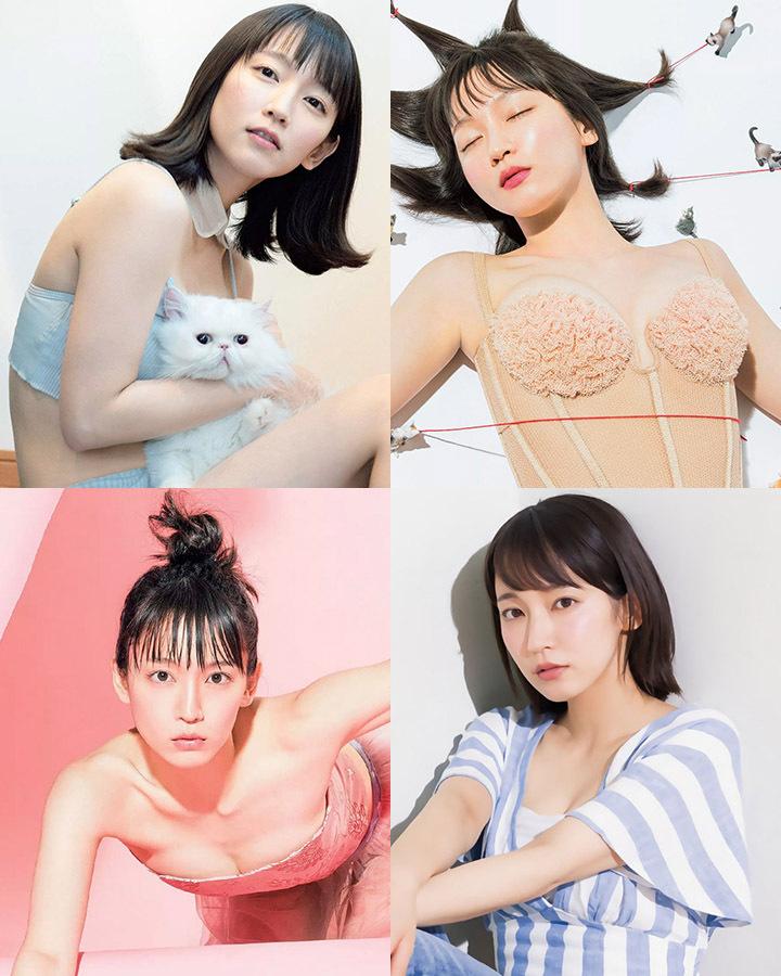 吉冈里帆再次出现在花花公子时尚杂志彰显自己性感可爱的写真作品 (1)