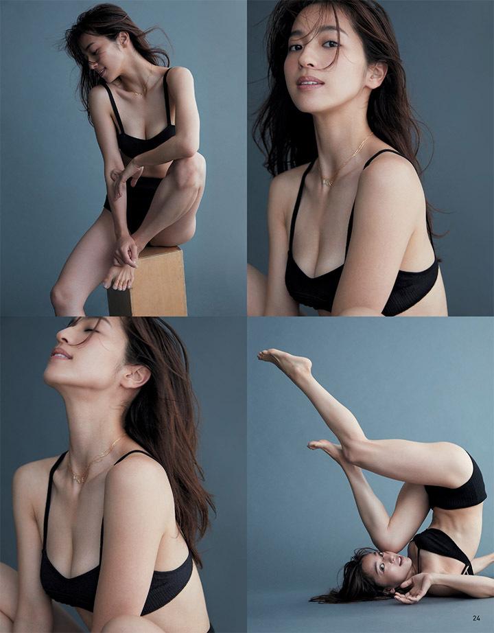 艺能界第一体型的中村杏拍摄写真作品上杂志封面连女读者都买单 (22)