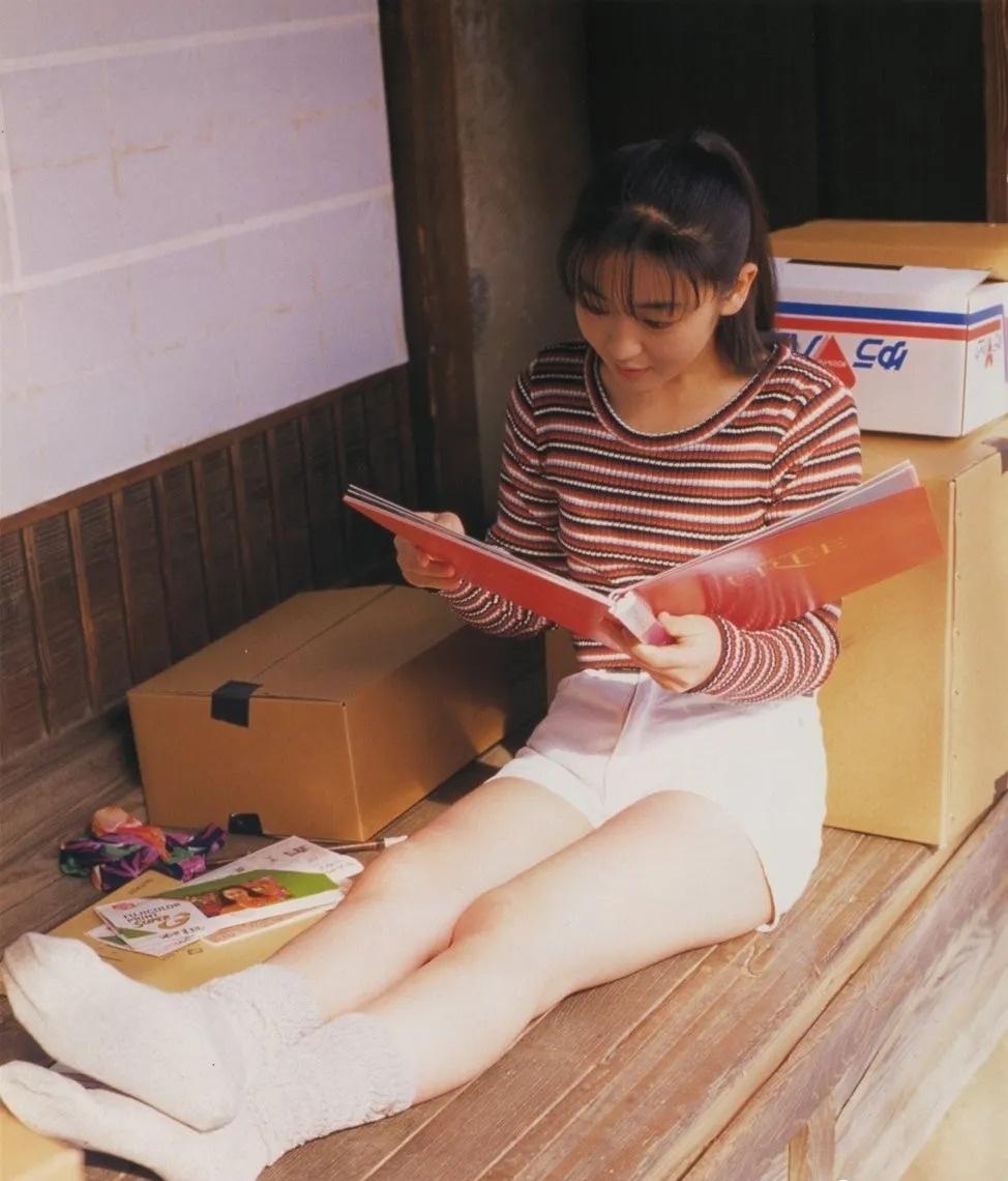 清纯玉女17岁情书中的酒井美纪写真作品 (10)