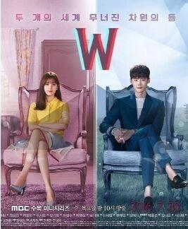 W两个世界的海报