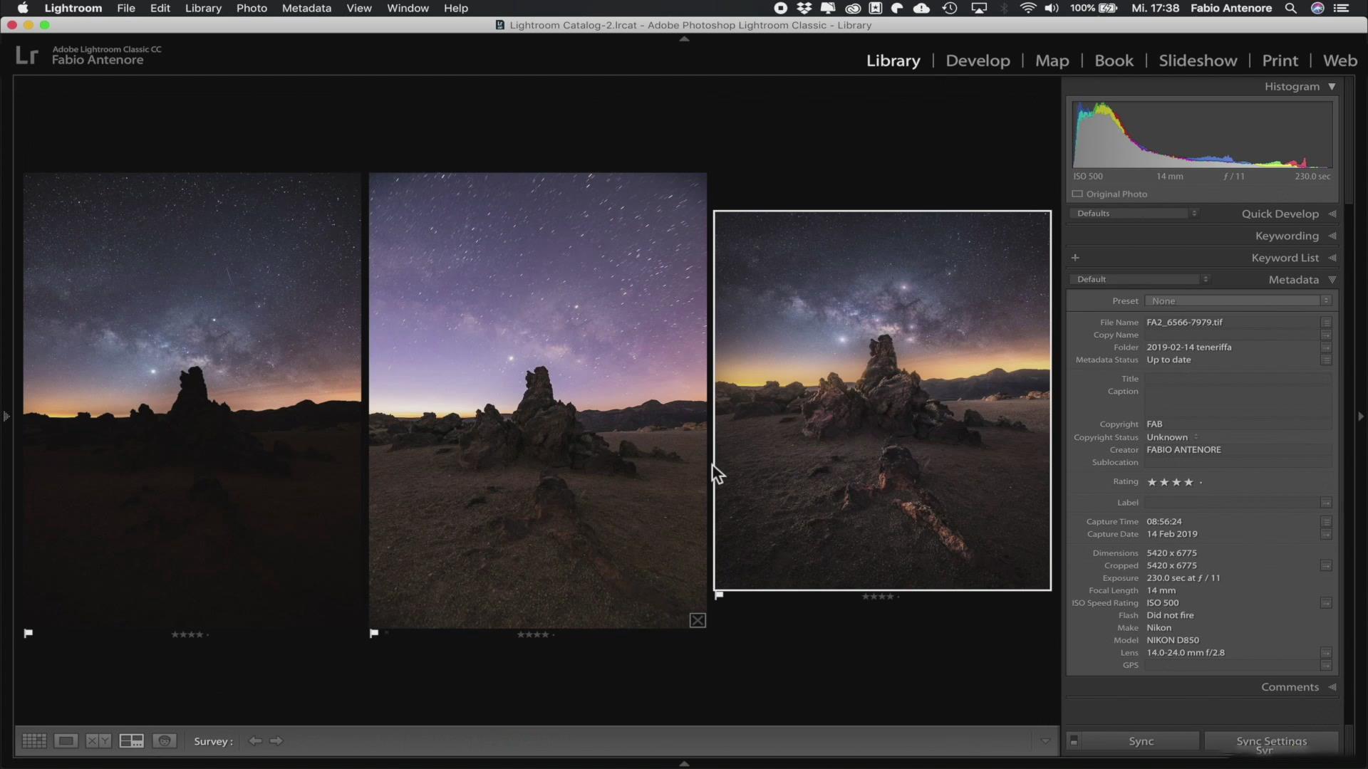 摄影教程_Fabio Antenore-超级真实银河系夜景风光摄影及后期附扩展素材-中英字幕 摄影教程 _预览图25