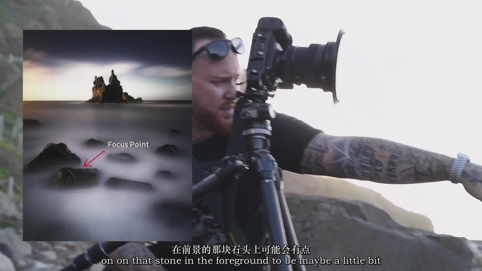 摄影教程_Fabio Antenore-风光摄影-海景长曝光摄影及后期教程附RAW素材-中英字幕 摄影教程 _预览图11
