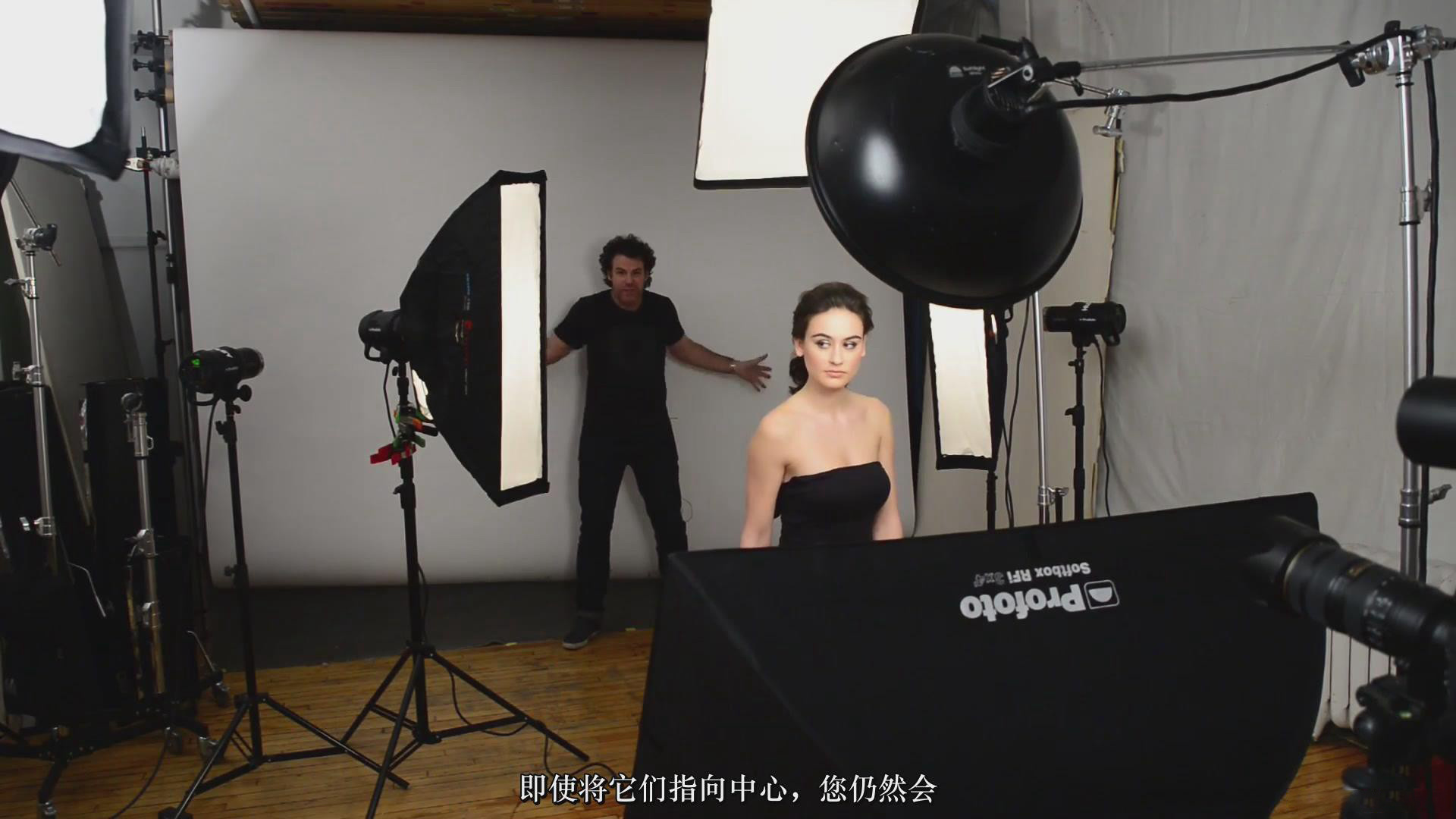 摄影教程_Fstoppers-彼得·赫利(Peter Hurley)完美头像人像面部布光教程-中文字幕 摄影教程 _预览图16